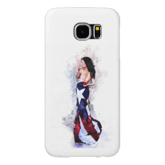 Capa Para Samsung Galaxy S6 Espírito de Puerto Rico