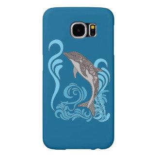 Capa Para Samsung Galaxy S6 Espirro do golfinho