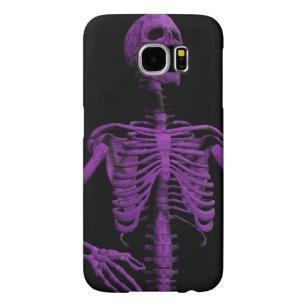 Capa Para Samsung Galaxy S6 esqueleto roxo de Air Guitar