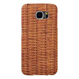 Capa Para Samsung Galaxy S6 Estilo country de vime rústico da cesta do