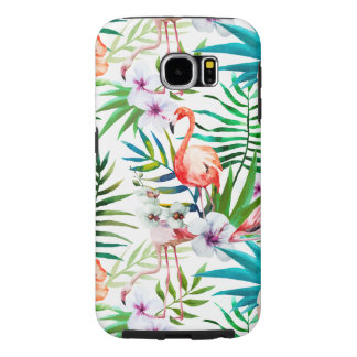 Capa Para Samsung Galaxy S6 Exemplo resistente tropical de Samsung S6