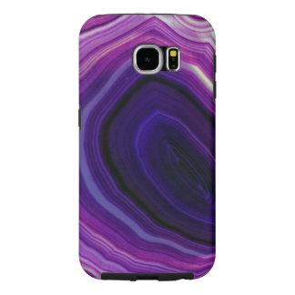 Capa Para Samsung Galaxy S6 Falln rodou Geode roxo
