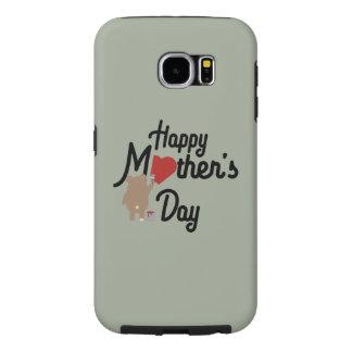 Capa Para Samsung Galaxy S6 Feliz dia das mães Zg6w3