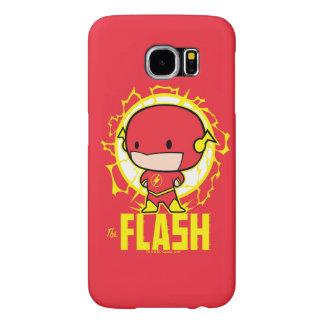 Capa Para Samsung Galaxy S6 Flash de Chibi com eletricidade