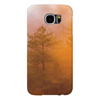Capa Para Samsung Galaxy S6 Floresta dourada da corriola