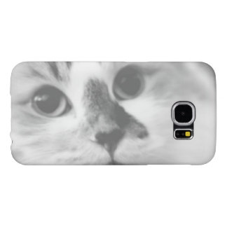 Capa Para Samsung Galaxy S6 Fotografia BONITO SUPER do retrato do gato