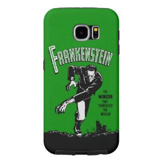 Capa Para Samsung Galaxy S6 Frankenstein - galáxia S6 o Dia das Bruxas de