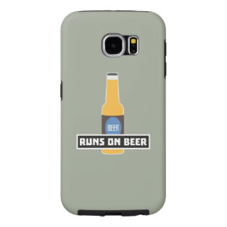 Capa Para Samsung Galaxy S6 Funcionamentos na cerveja Z7ta2