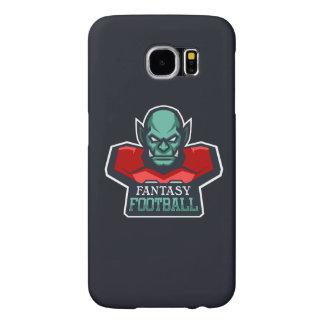 Capa Para Samsung Galaxy S6 Futebol da fantasia