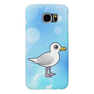 Capa Para Samsung Galaxy S6 Gaivota de Birdorable Islândia