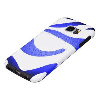 Capa Para Samsung Galaxy S6 Galáxia azul S6 de Samsung do mosaico