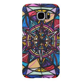 """Capa Para Samsung Galaxy S6 """"Galáxia S6 de Samsung da liberdade financeira"""","""