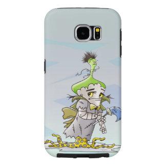 Capa Para Samsung Galaxy S6 Galáxia S6 de Samsung da MANTEIGA de FRANKY