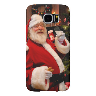 Capa Para Samsung Galaxy S6 Galáxia S6 de Samsung do Natal, mal lá telefone