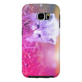 Capa Para Samsung Galaxy S6 Gatinho curioso