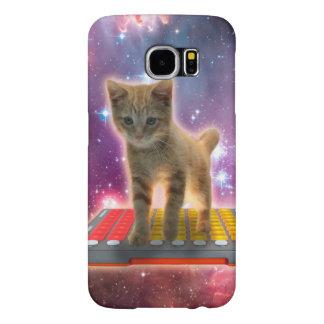 Capa Para Samsung Galaxy S6 gato do teclado - gato de gato malhado - gatinho