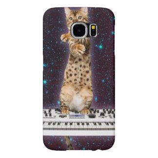 Capa Para Samsung Galaxy S6 gato do teclado - gatos engraçados - amantes do