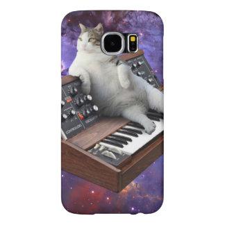 Capa Para Samsung Galaxy S6 gato do teclado - memes do gato - gato louco