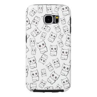 Capa Para Samsung Galaxy S6 Gatos engraçados
