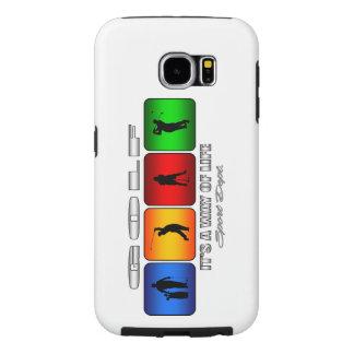 Capa Para Samsung Galaxy S6 Golfe legal é um modo de vida
