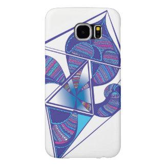 Capa Para Samsung Galaxy S6 Gráfico do papagaio na caixa da galáxia S6 de