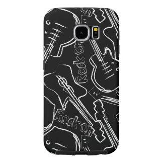 Capa Para Samsung Galaxy S6 Guitarra da rocha