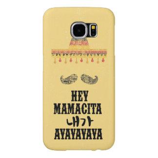 Capa Para Samsung Galaxy S6 Hey GALÁXIA S6 de Mamacita