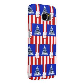 Capa Para Samsung Galaxy S6 Iluminati