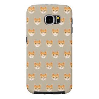 Capa Para Samsung Galaxy S6 Ilustração bonito do gato de gato malhado