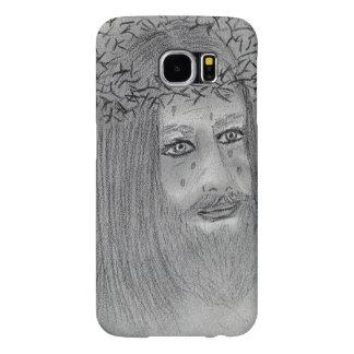 Capa Para Samsung Galaxy S6 Jesus de grito