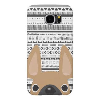 Capa Para Samsung Galaxy S6 Jovem corça do caso de Geo do amor do buldogue