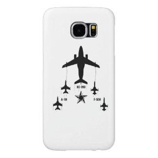 Capa Para Samsung Galaxy S6 KC-390 - A-1M - F-5EM Brazilian Air Force