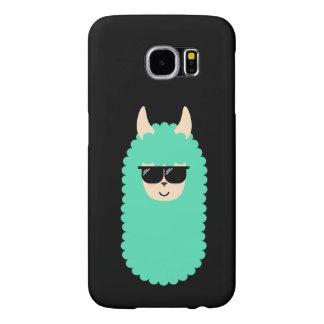 Capa Para Samsung Galaxy S6 Lama legal de Emoji