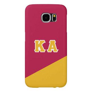 Capa Para Samsung Galaxy S6 Letras alfa do grego da ordem | do Kappa