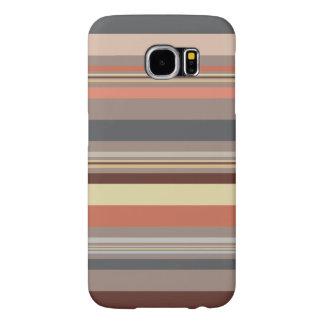 Capa Para Samsung Galaxy S6 Listras - tons retros