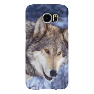 Capa Para Samsung Galaxy S6 Lobo do inverno