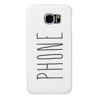 Capa Para Samsung Galaxy S6 Mantenha-o cobrir simples do telefone
