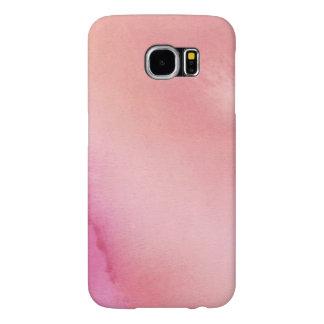 Capa Para Samsung Galaxy S6 Mármore cor-de-rosa