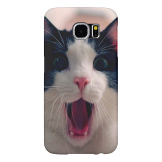 Capa Para Samsung Galaxy S6 Meme do gato - gato engraçado - memes engraçados