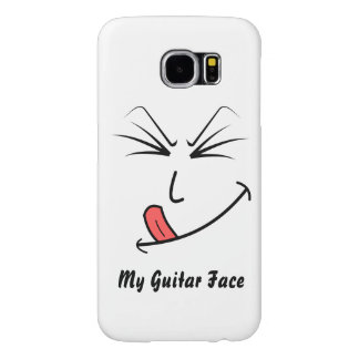 Capa Para Samsung Galaxy S6 Minha cara da guitarra