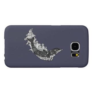 Capa Para Samsung Galaxy S6 Natação do golfinho