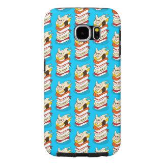 Capa Para Samsung Galaxy S6 Noite japonesa do sushi para o buldogue francês