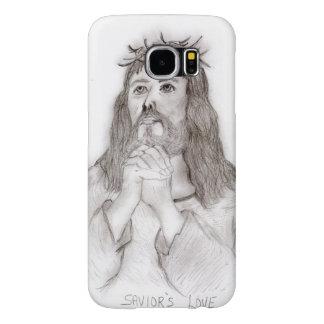 Capa Para Samsung Galaxy S6 O amor do salvador