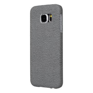 Capa Para Samsung Galaxy S6 O couro gosta do cinza