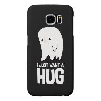 Capa Para Samsung Galaxy S6 O fantasma triste bonito apenas quer um abraço
