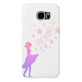 Capa Para Samsung Galaxy S6 O ódio dos trunfos do amor Stars o caso do