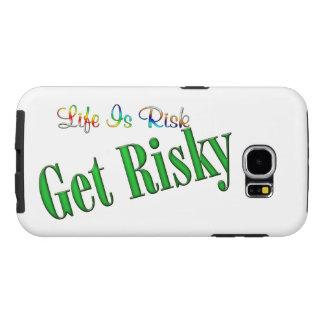 Capa Para Samsung Galaxy S6 Obtenha arriscado