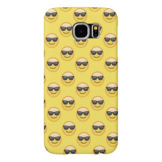 Capa Para Samsung Galaxy S6 Óculos de sol legal Emoji das máscaras