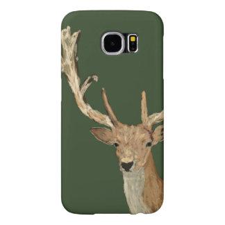 Capa Para Samsung Galaxy S6 Oh cervos - cervos de vista naturais - vida da