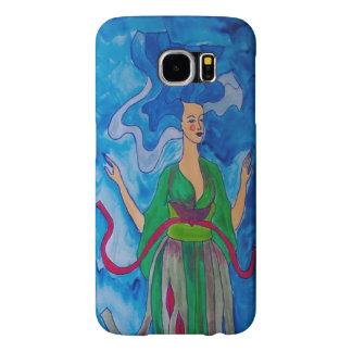 Capa Para Samsung Galaxy S6 Onda azul